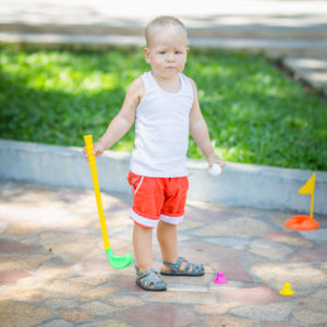 Aussie Kids-How old is old enough to start your kids golfing